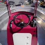 poste de pilotage coque aluminium