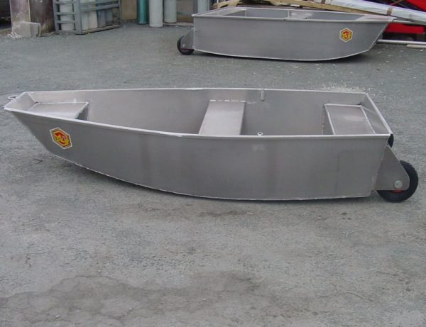 barque aluminium fond plat