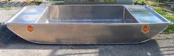 barque de peche en aluminium