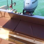 cockpit arrière bateau de plaisance