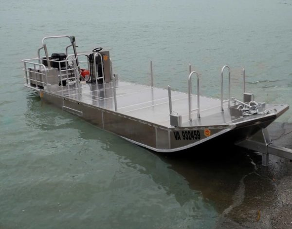bateau aluminium pour ostreiculture