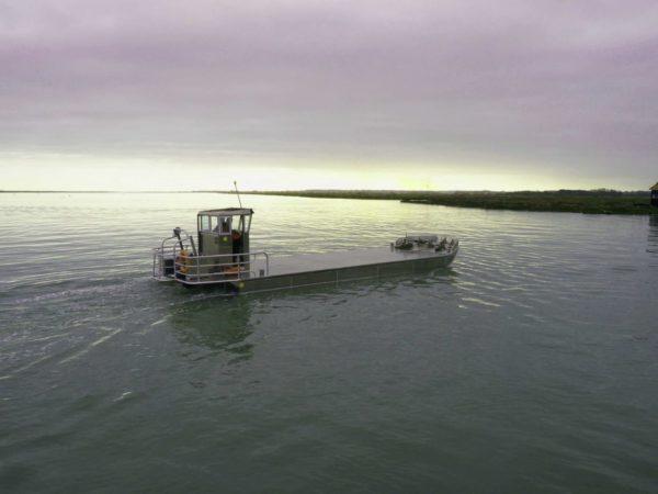 cabine barge ostreicole