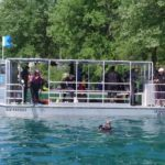 bateau de plongee en aluminium