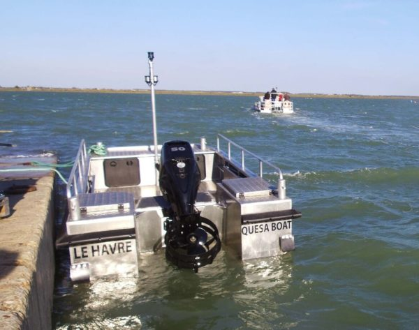 bateau aluminium entretien port