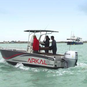 bateau aluminium pêche promenade