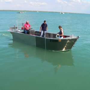 bateau ostreicole fond plat