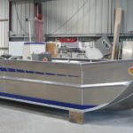 bateau coque plate