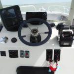 poste de pilotage bateau insubmersible en aluminium