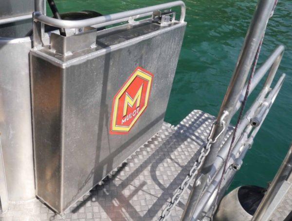 reservoir bateau de plongee