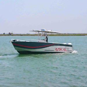 bateau de plaisance en aluminium